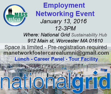 employment networking event with national grid